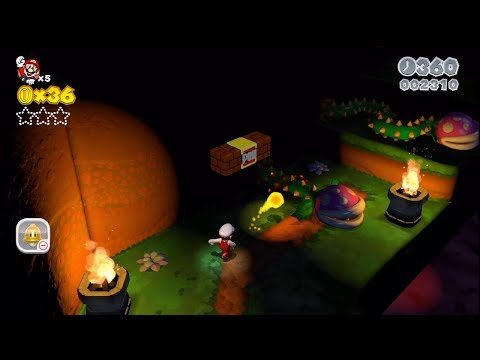 Super Mario 3D World [Part 30] - Fire Flower Karma Carnivals of Abusive Bunnies!