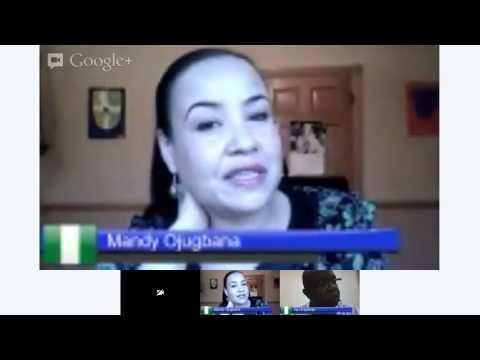 Google Hangout With Mandy Brown Ojugbana