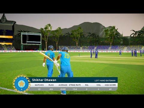 India vs Sri Lanka - 4th ODI Match - Don Bradman Cricket 17