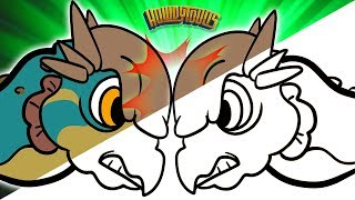 Pachycephalosaurus Song Animatic - Dinosaur Songs from Dinostory by Howdytoons Extras