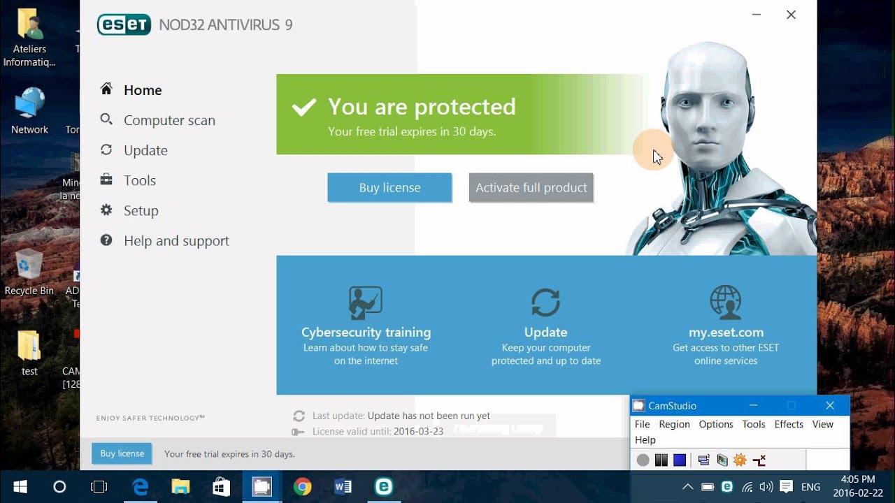 ESET NOD32 Antivirus 11.1.54.0 Crack - YouTube