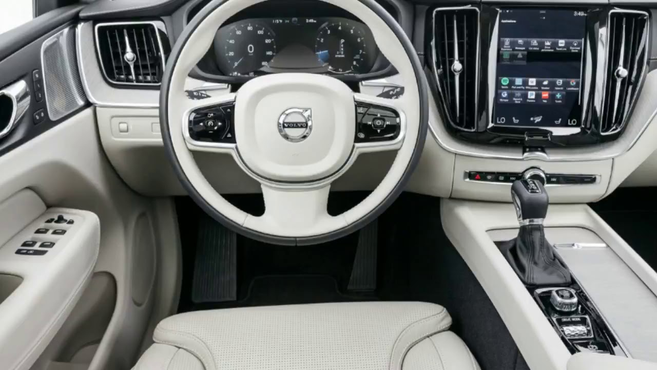 2018 Volvo Xc60 T5 And T6 First Test Review Interior