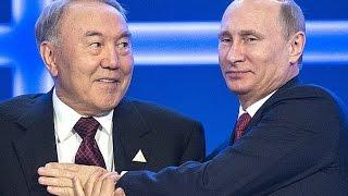 Назарбаев и война против Украины