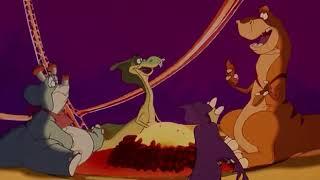 Desene animate: o poveste cu dinozauri.