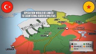 9 октября 2017. Военная обстановка в Сирии. Турция готовит военную операцию против боевиков в Сирии.