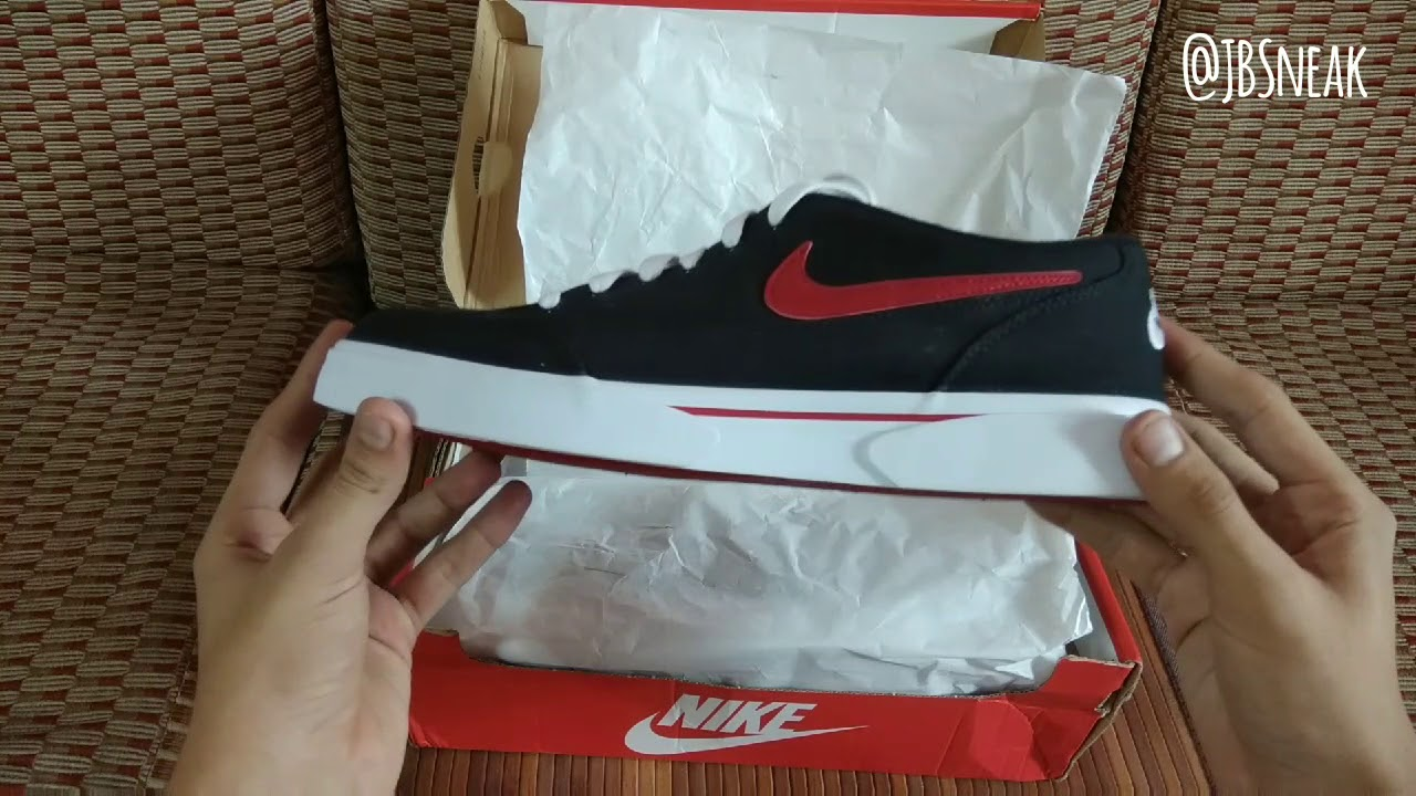 NIKE GTS TXT'16BLACK AND RED EDITION UNBOXING AND TRY ON YouTube