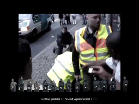 German Police Brutality
