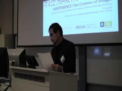 Arturo Arias: De-Centering Latin American Studies, lecture at ANU