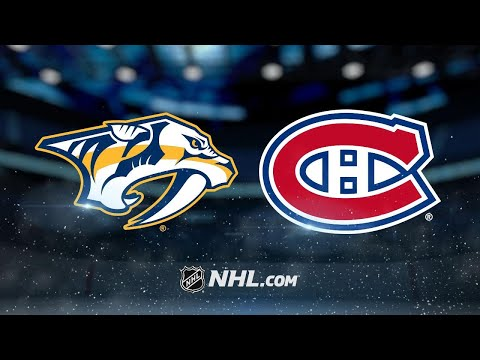 Rinne backstops Predators to 3-2 SO win against Habs