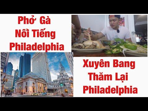 Xuyên nước Mỹ 127 | Trở lại Philadelphia tham quan, quay hình và ăn Phở Gà cùng người xem YouTube P1