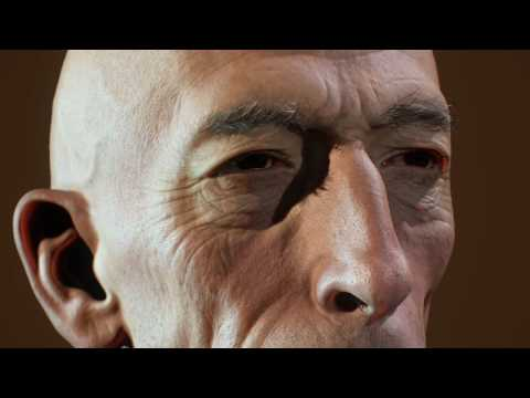 Krank(Daniel Emilfork) - Real-Time Character TexturingXYZ