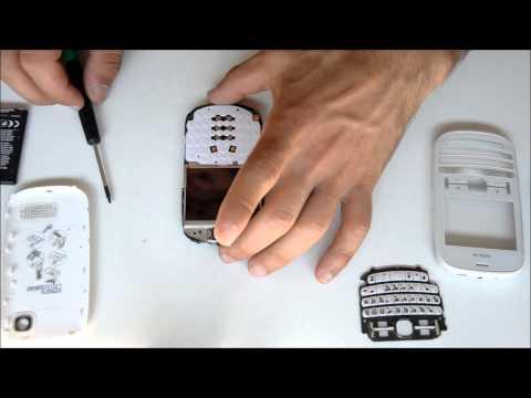 Nokia Asha 200 Disassembly / Αποσυναρμολόγηση