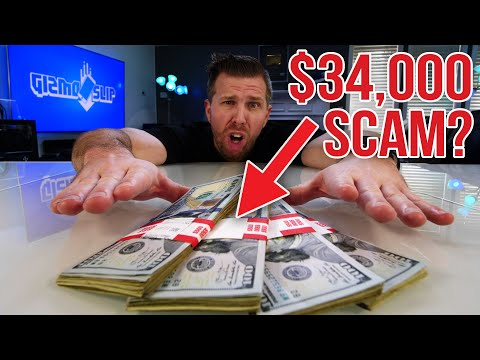They Tried to Pay Me $34,000 to Scam You... Here's What Happened...
