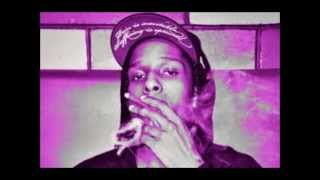 ASAP Rocky - Goldie (SlimK Slowdown Remix) Chopped and Screwed