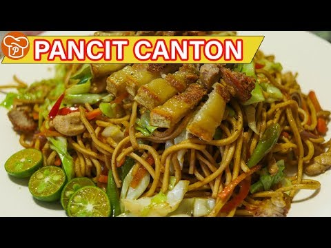 How to Cook Pancit Canton | Pinoy Easy Recipes