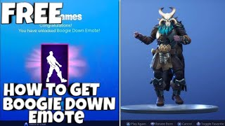 How to Get The NEW Boogie Down Emote in Fortnite Battle Royale| XPhysixZ|
