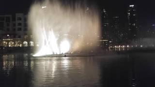 Burj Khalifa/ Dubai mall musical fountains new years