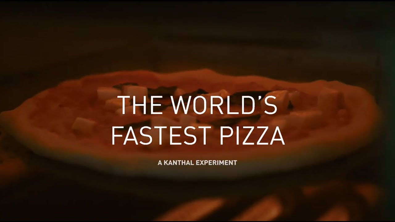 The World's Fastest Pizza