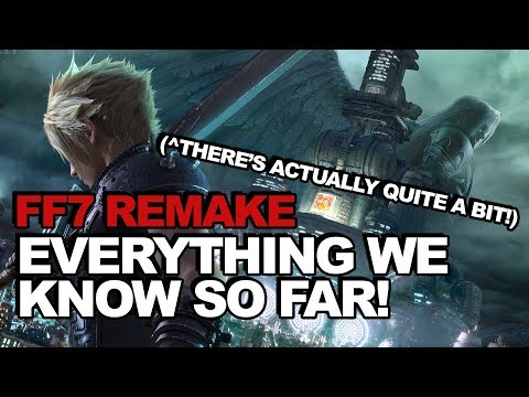Final Fantasy 7 Remake: Everything We Know So Far (There's Actually Quite A Lot!)