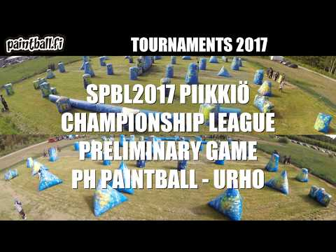 PH Paintball vs Urho - SPBL2017 Piikkiö