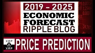 MOST REALISTIC RIPPLE [XRP] PRICE PREDICTION by  The Economy Forecast & Ripple Blog