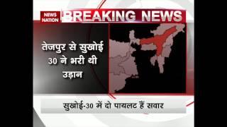Indian Air Force's Aircraft Sukhoi-30 goes missing near China Border