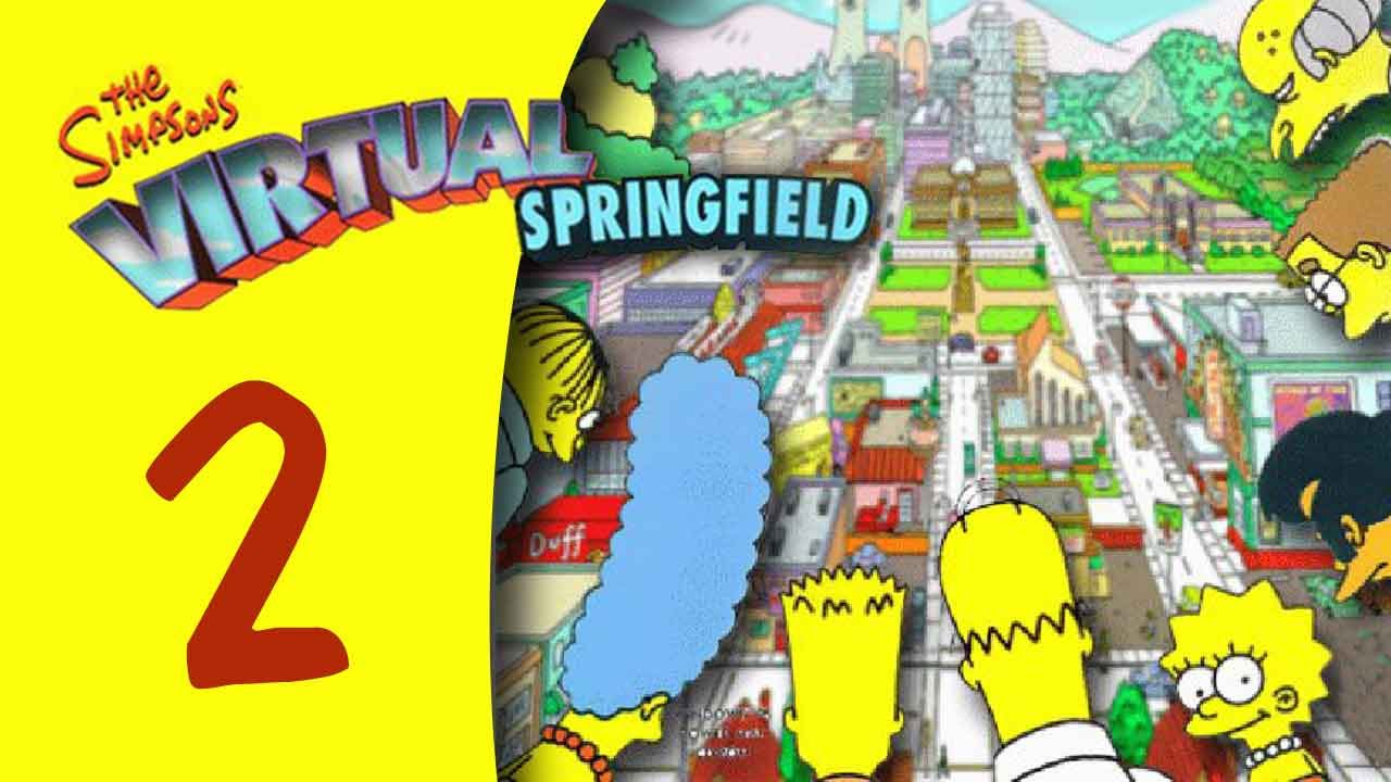 The simpsons virtual springfield part 2 youtube for Virtual springfield