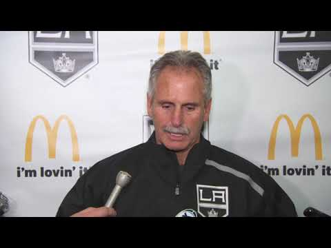 New man in charge: Willie Desjardins takes over as coach for LA Kings
