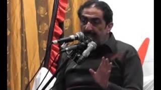 Ghazanfar Abbas Tonsvi in 1st Majlis of Ashra Majalis Unwan Bibi Sakina(sa) 2013