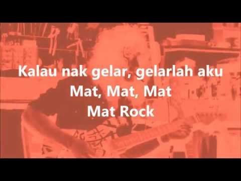 SEARCH - Mat Rock - Lirik /Lyrics On Screen