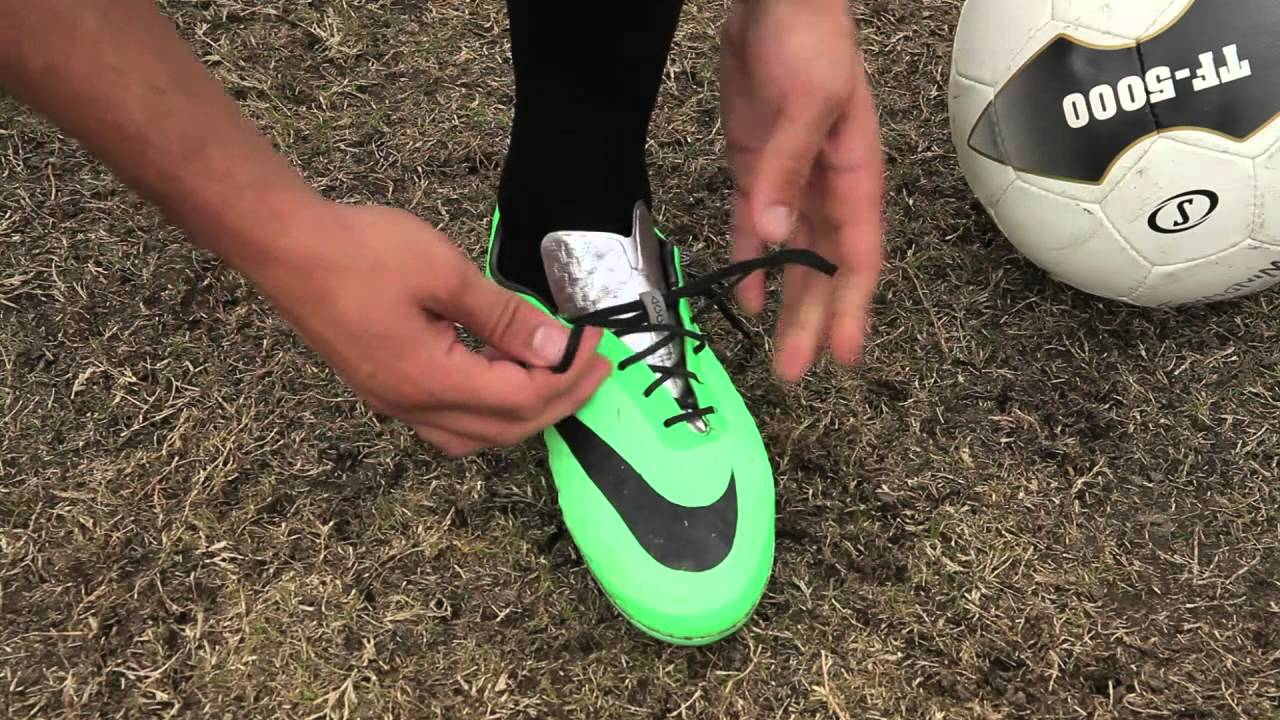 01760b7ca How to Tie Your Cleats - YouTube
