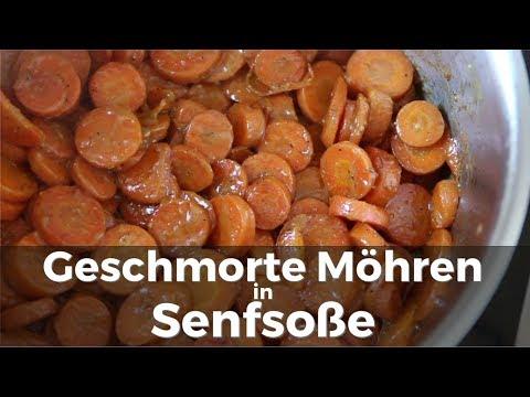 Möhren in Senfsoße Rezept