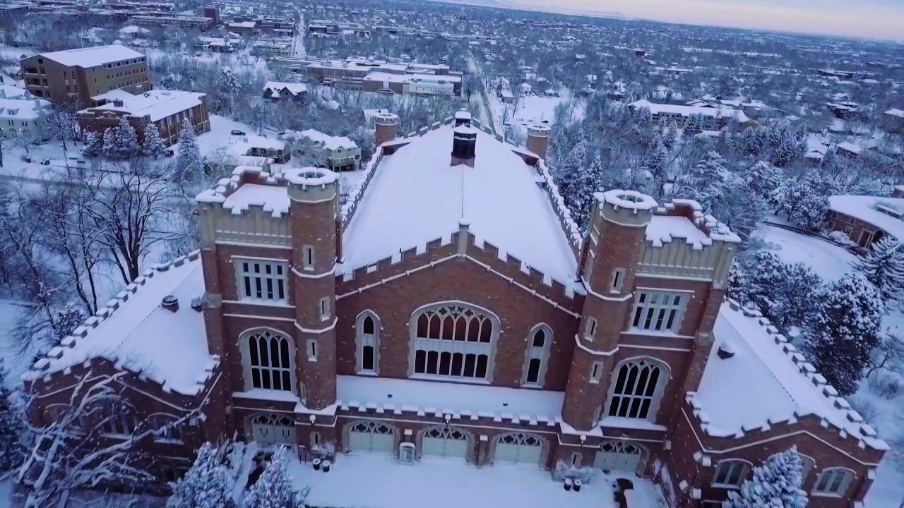 Cu Boulder - Winter Wonderland
