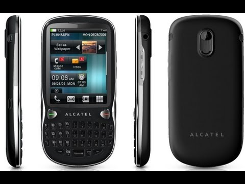 Обзор Alcatel One Touch 806