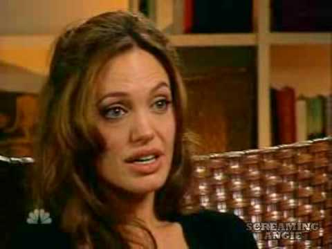 Angelina Jolie -Jolie On Humanitarian Work