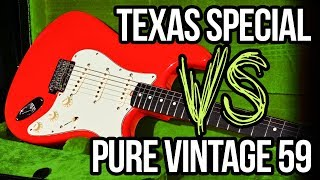 Fender Pure Vintage 59 VS Texas Special Pickups