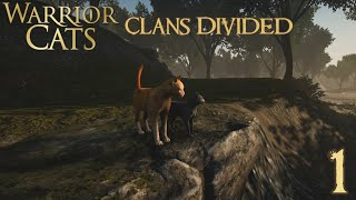 A First Look ✩ Warriors: Clans Divided ✩