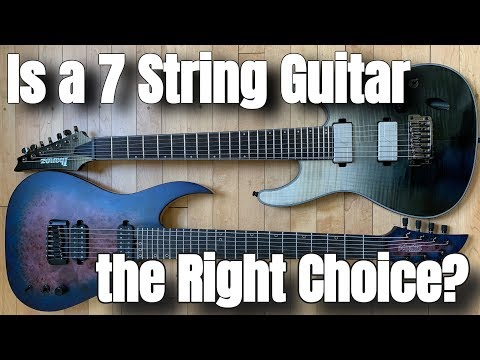 Is A 7 String Guitar The Right Choice For You? | What To Know Before You Buy