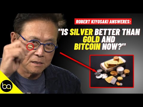 Will SILVER Outperform GOLD \u0026 BITCOIN In 2021?   Robert Kiyosaki