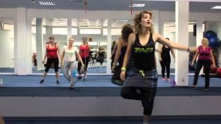 Warm up ZUMBA june 2014
