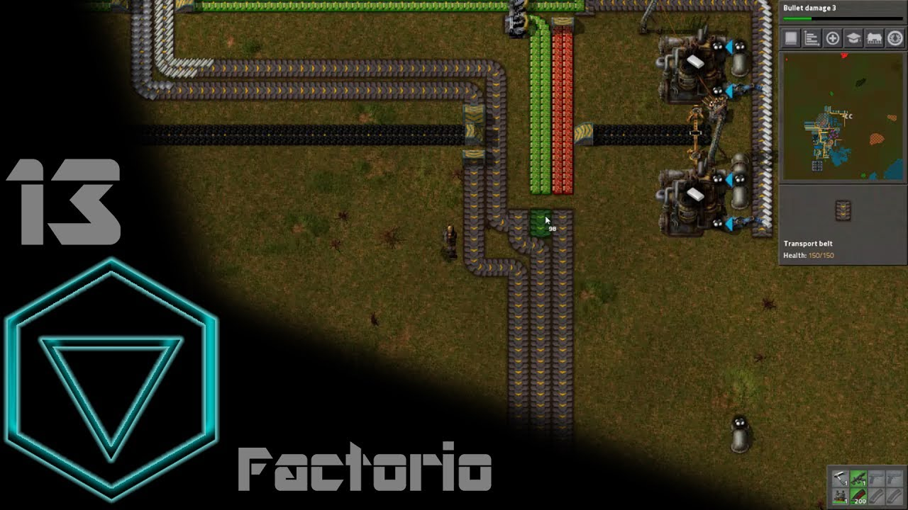 Factorio   Railworld #13   Setup Science Pack 3