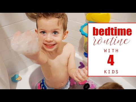 Bed Time Routine with FOUR kids!! | Twist Me Pretty