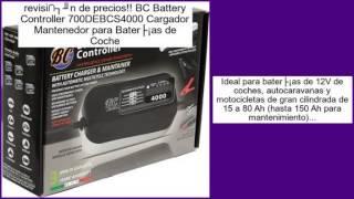 BC Battery Controller 700DEBCS4000 Cargador Mantenedor para Baterías de Coche opi