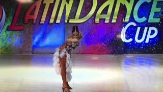 Alyssa Chriqui WLDC 2016 Salsa & Samba Solo