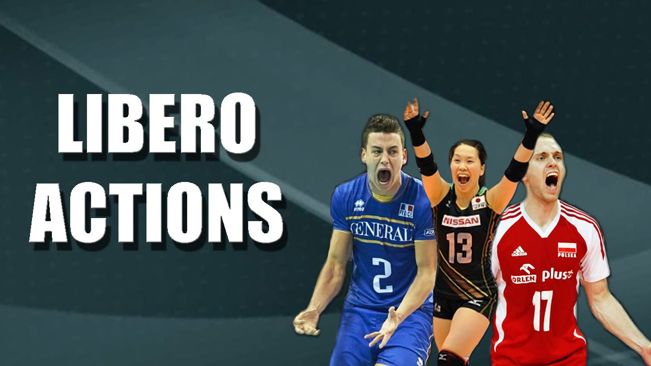 Libero Volleyball Defence Specialist Youtube