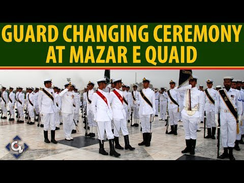 Guards Changing Ceremony At Mazar-e-Iqbal On Pakistan 72nd Independence | 14 August 2019 from YouTube · Duration:  2 minutes 24 seconds