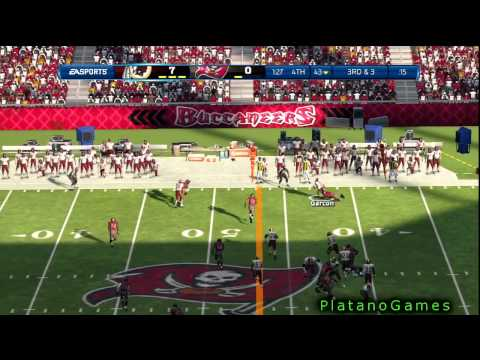 NFL 2012 Wk 4 - Washington Redskins (1-2) vs Tampa Bay Buccaneers (1-2) - 2nd Half - Madden