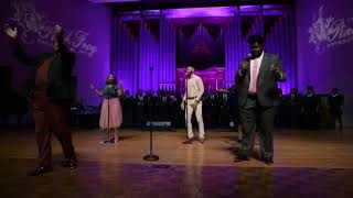 Jarrell Jordan Sings with Kurt Carr