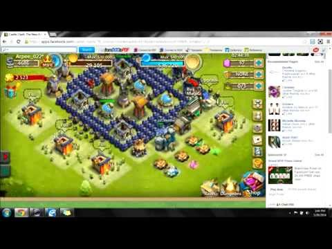Castle Clash Defense Startegy Town Hall Level 11