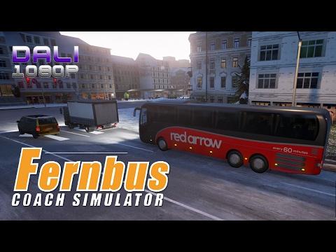 Fernbus Coach Simulator Red Arrow PC Gameplay 1080p 60fps